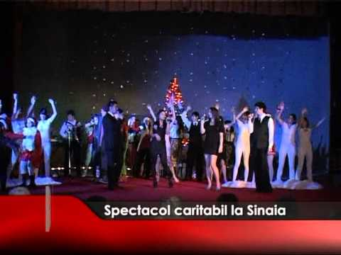 Spectacol caritabil în Sinaia