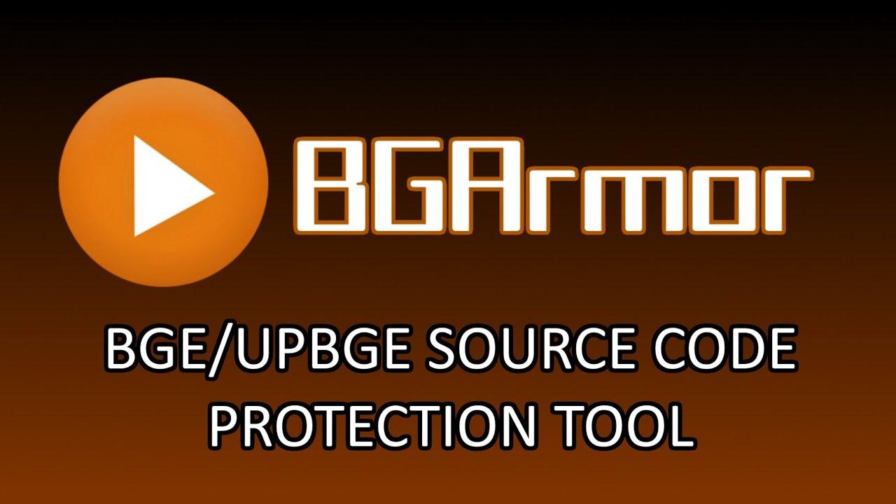 BGArmor: Proteção De Código Fonte Para BGE/UPBGE