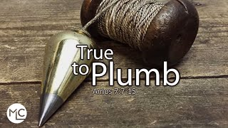 True to Plumb