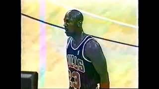 Michael Jordan Fancy Jump Shot!