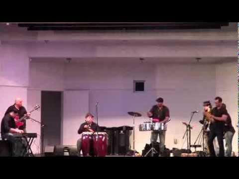 Cachi and his Salsa Jazz Ensemble at the North Shore Bandshell