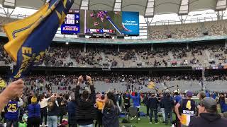 West Coast Eagles 2018 Grand Final Win