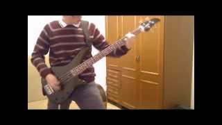 Arch Enemy - Dead Inside (bass cover)