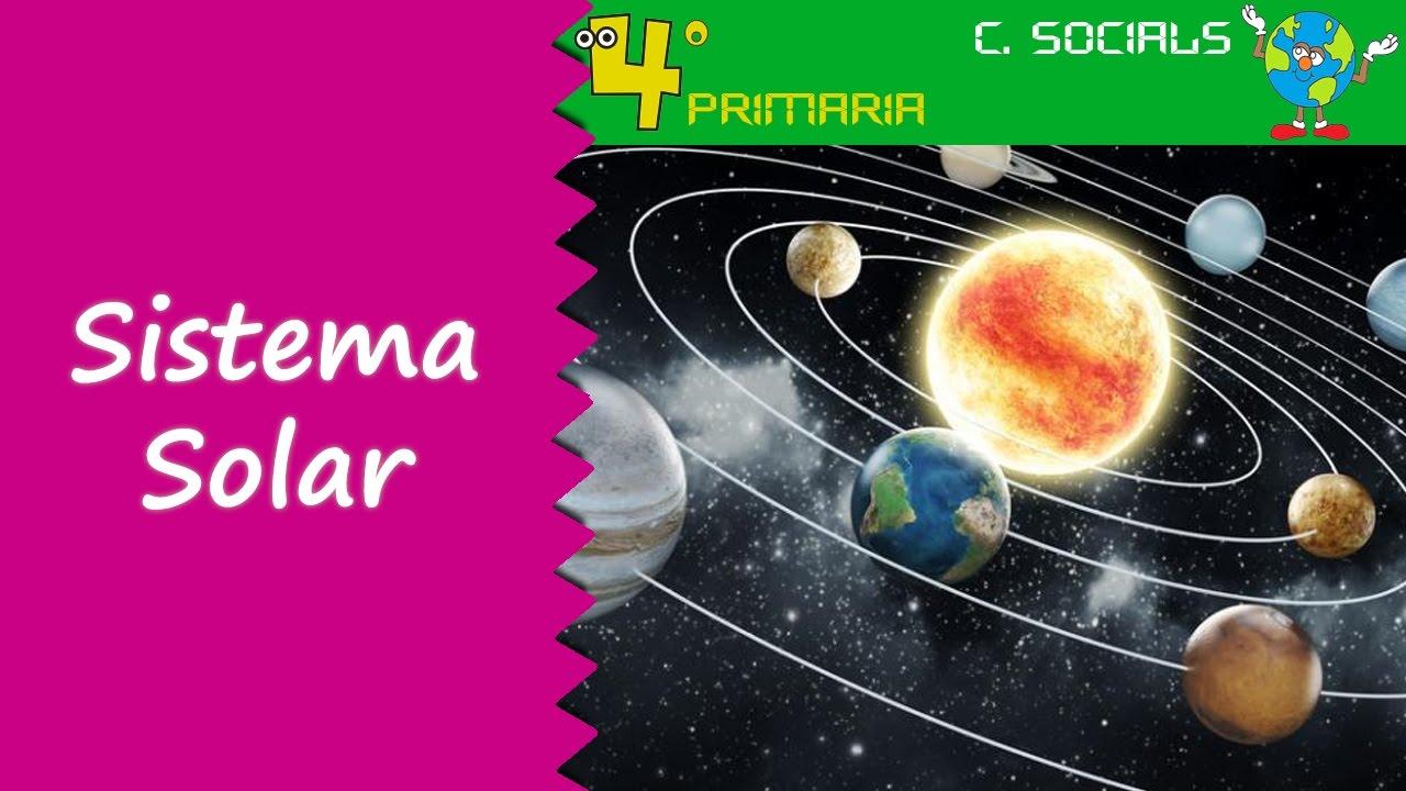 Ciències Socials. 4t Primària. Tema 1. El sistema solar