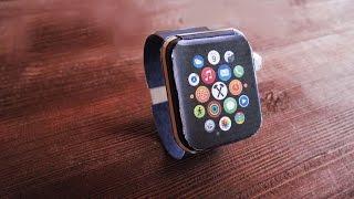 Apple watch из бумаги (MOLOT)