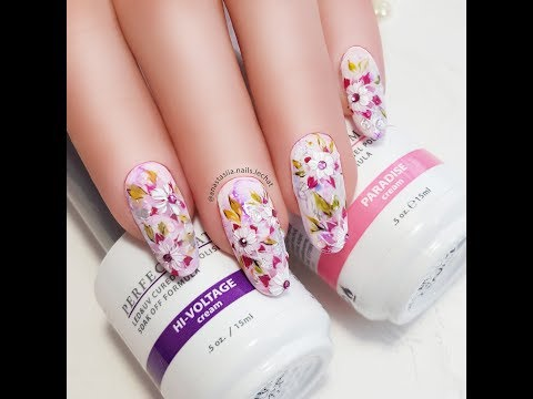 Spring Nails Mini Tutorial