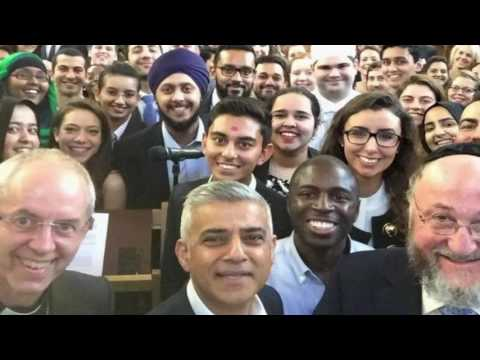 Sadiq Khan, London's first Muslim mayor, on connecting citizens
