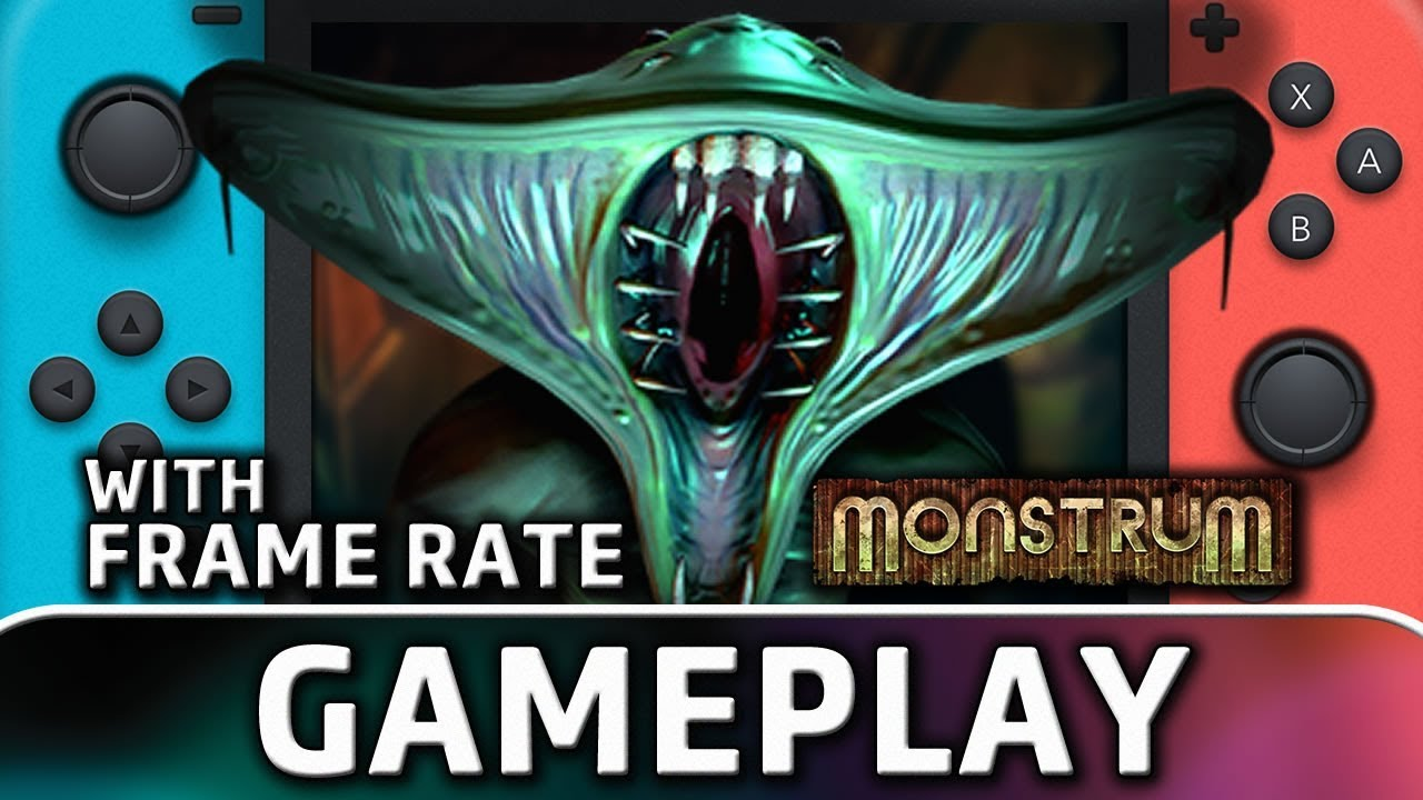 Monstrum | Nintendo Switch Gameplay and Frame Rate