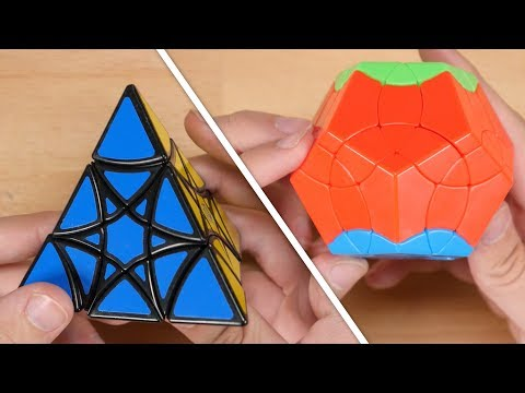 Solving the the Star Pyraminx and Pheonix Megaminx Puzzles! | October 2019 Puzzlcrate