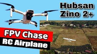 Hubsan Zino 2 Plus Drone Chasing Eachine Airloader Long Range FPV Plane
