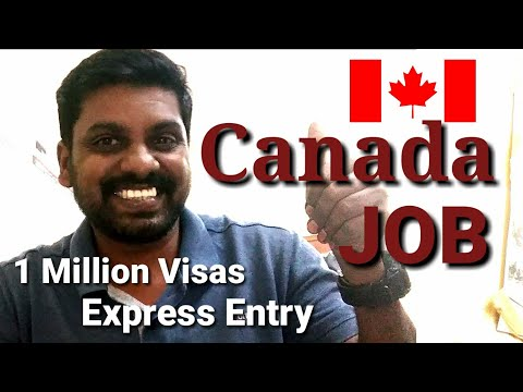 How To Get Canada Work Visa And Procedure | Through Express Entry.. !