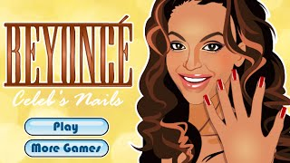 Manicure Beyonce- Fun Online Celebrity Manicure Games for Girls Kids Teens