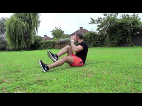 Park Workout |  Running Man Sit up