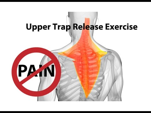 Video Upper Trap Release Exercise for Instant Neck Pain Relief - Dr Mandell