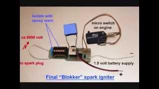 Homemade Miniature Spark Ignitor