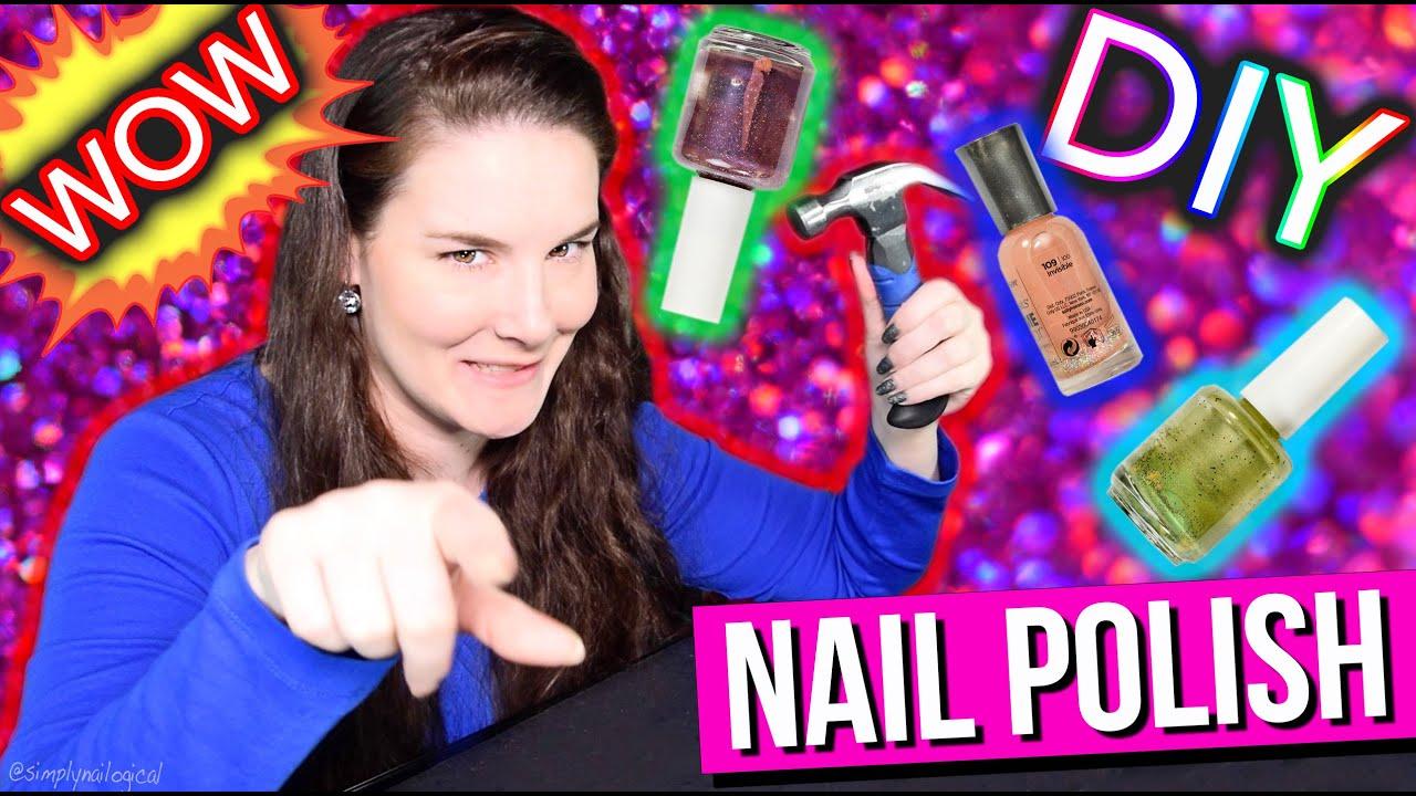 DIY Nail Polish | SUPER CHEAP SALON MANICURE!!! thumbnail