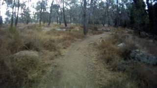 preview picture of video 'Mountain bike  - Ben Shemen forest @ אופני הרים  יער בן שמן(21 Aug 2009)'