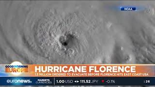 Hurricane Florence: 1.5 million ordered to evacuate before Hurricane Florence hits US East Coast