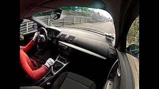 BMW 120D Nurburgring. GoPro Onboard