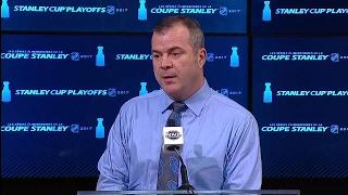 Vigneault: We felt there was icing on Senators