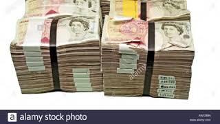 MILLION POUND CASH IN 50 POUNDS NOTE