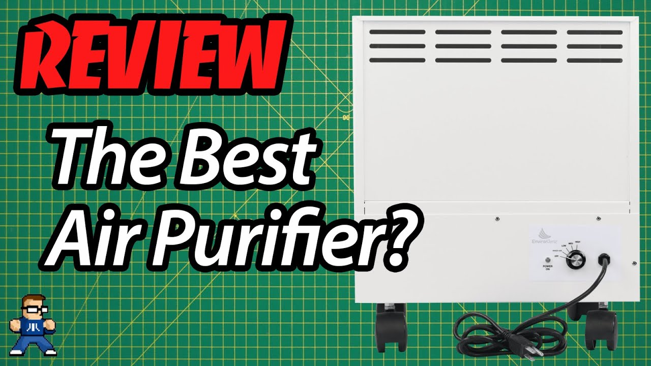 The Best Air Purifier: Reviewing The EnviroKlenz Mobile Air Cleaner