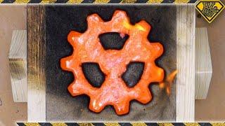 "Casting A ""Radioactive"" Copper Gear"
