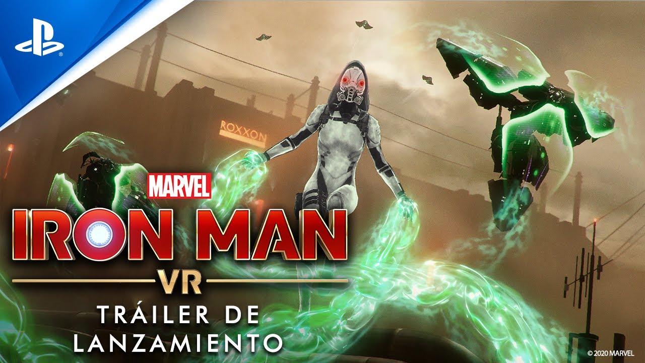 Marvel's Iron Man VR llega este viernes