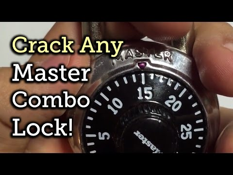 This Calculator Helps You Crack Any Master Combination Lock In Eight Tries
