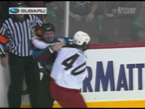 Jared Boll vs Cody McLeod