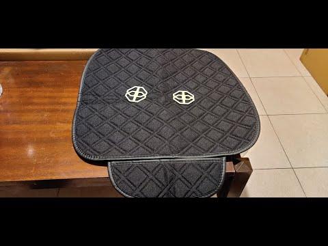 Banggood 4 Colors Universal Plush Anti Slip Car Front & Rear Seat Cover
