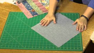 Quilting Quickly: Modern Barn Raising - Log Cabin Quilt Pattern
