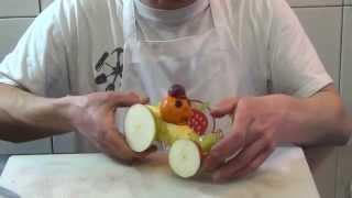 Как сделать гоночный автомобиль из банана - Фруктовый мастер - Fruitm