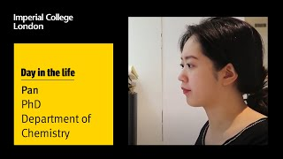 A day in the life of a Chemistry PhD student at Imperial