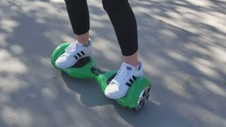 How to Ride a Hoverboard! Our GoTrax Hoverfly Eco Review