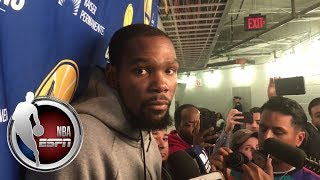 Kevin Durant gives his perspective on Shaun Livingston being ejected   ESPN