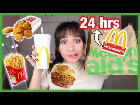 """Ar galite numesti svorio dėl"""" McDonald s"""""""