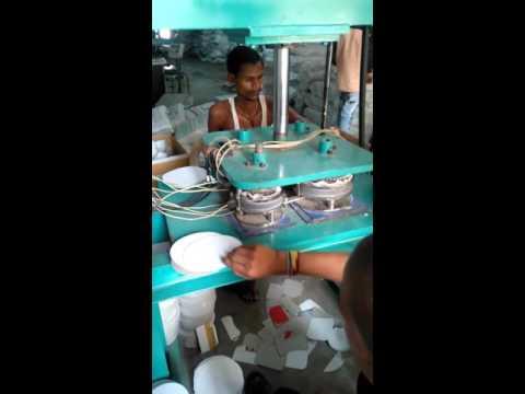 Automatic Hydraulic Paper Plate Making Machine