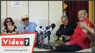محمود حميدة يكشف كواليس إصابة فاروق الفيشاوي بالسرطان