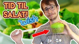Lav den PERFEKTE salat med Wish?   Lort fra Internettet