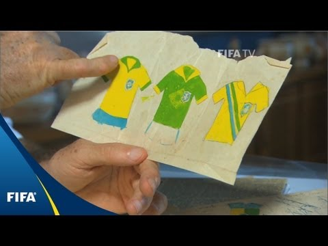 How Brazil got their famous uniforms