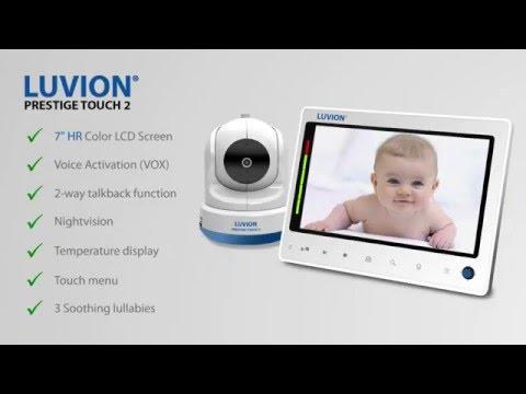 Luvion Prestige Touch 2 (Vidéo et audio, 300m)