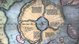 The Map House Of London. North Pole Map By Mercator, 1613