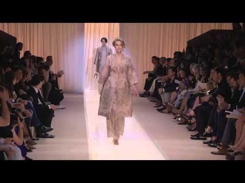 Paris Fashion Week Coverage: Armani Privé Fall 2013 Couture Collection