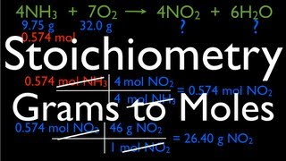 Stoichiometry: Grams To Moles