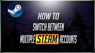 [Steam] How to switch between multiple steam accounts