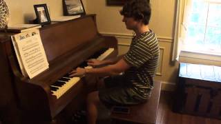 Alex English - Dance Gavin Dance Piano Cover