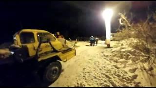 Кадры спасательных работ после обрушения многоэтажки в Шахтинске
