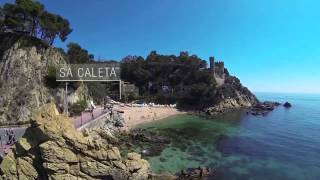 preview picture of video 'Beaches and coves in Lloret de Mar (Costa Brava)'