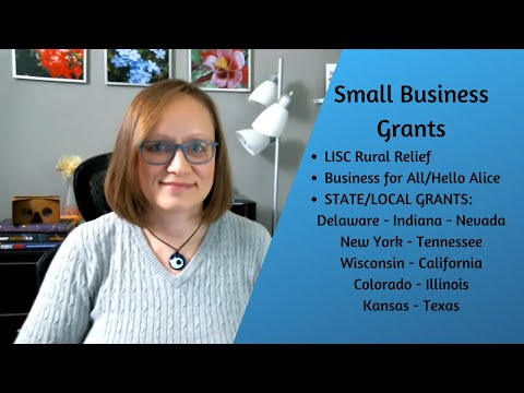 , title : 'COVID Small Business Grants / Assistance - several states plus LISC & Business for All - APPLY NOW!